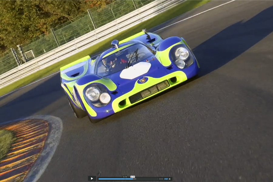 """Porsche 917-021. The fabulous story"""