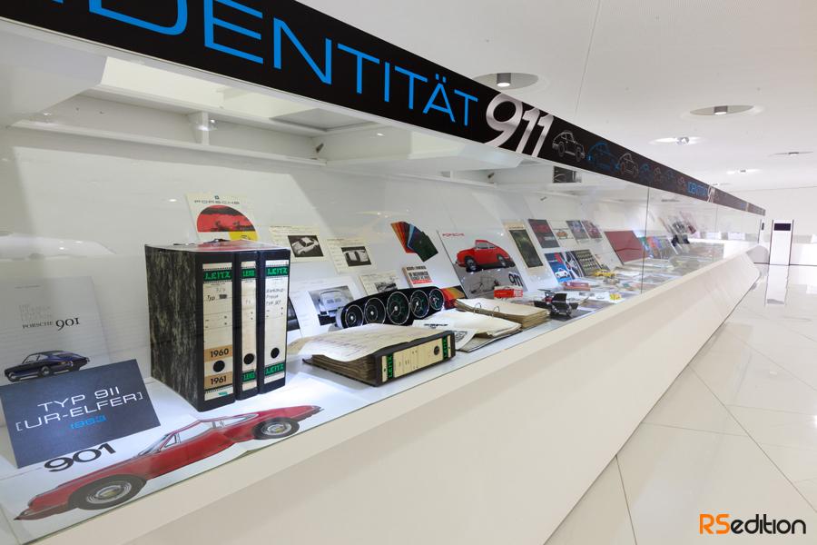 """""""Identidad 911″ en el museo Porsche"""