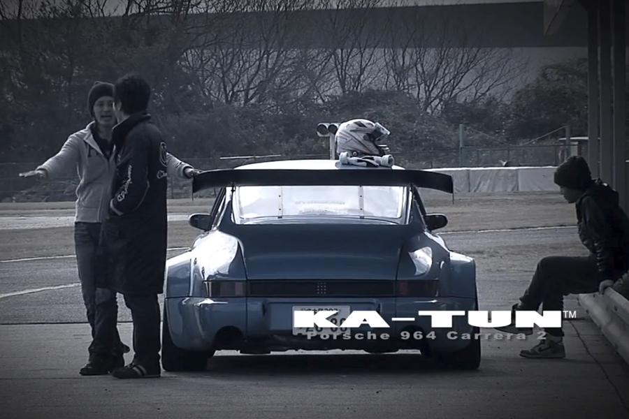 Porsche 964 Drifting en Suzuka