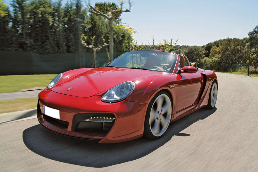 Con estilo: Boxster S TechArt por MT Performance