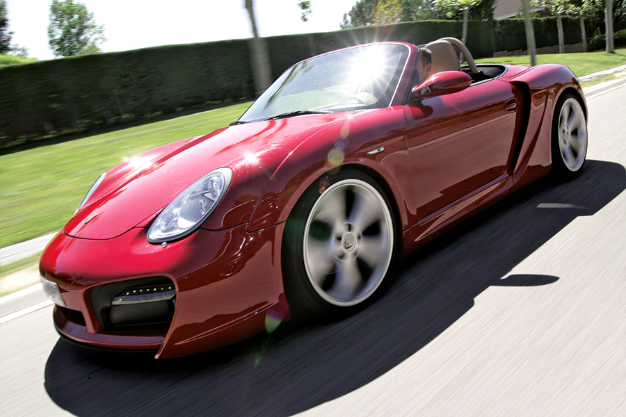 Porsche Boxster TechArt