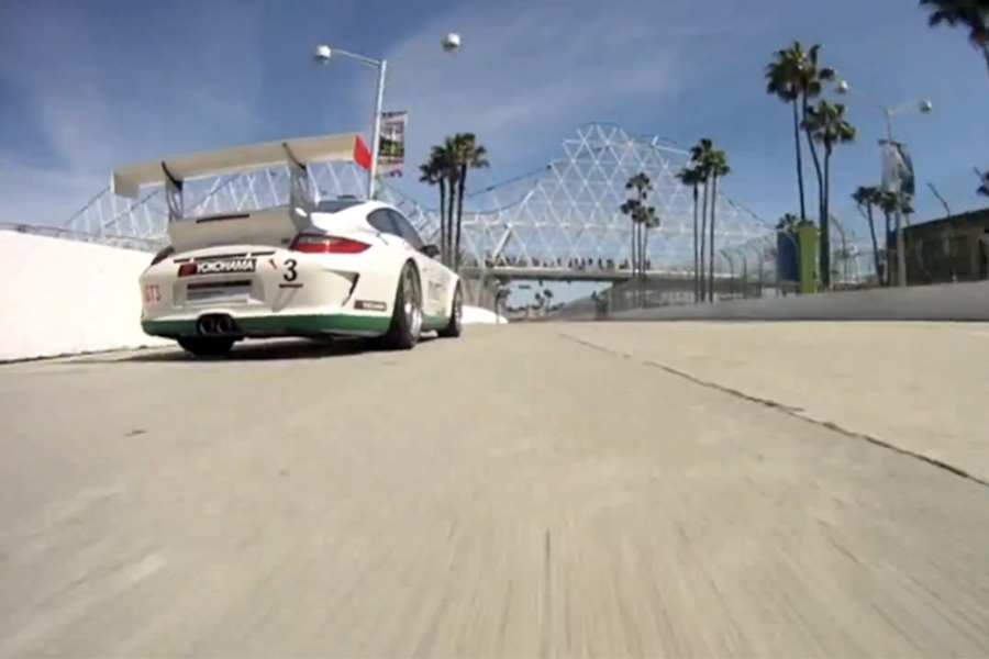 Video: Circuito de Long Beach en un 911 GT3 Cup