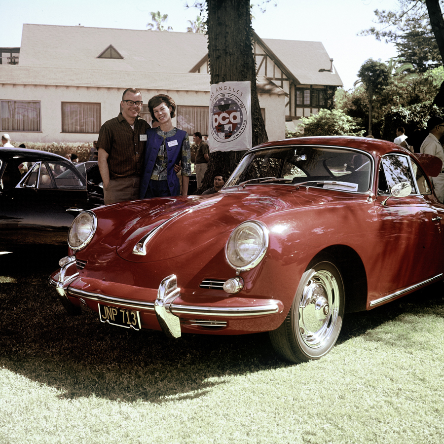 Encuentro Porsche Club of America en Del Mar (1963)