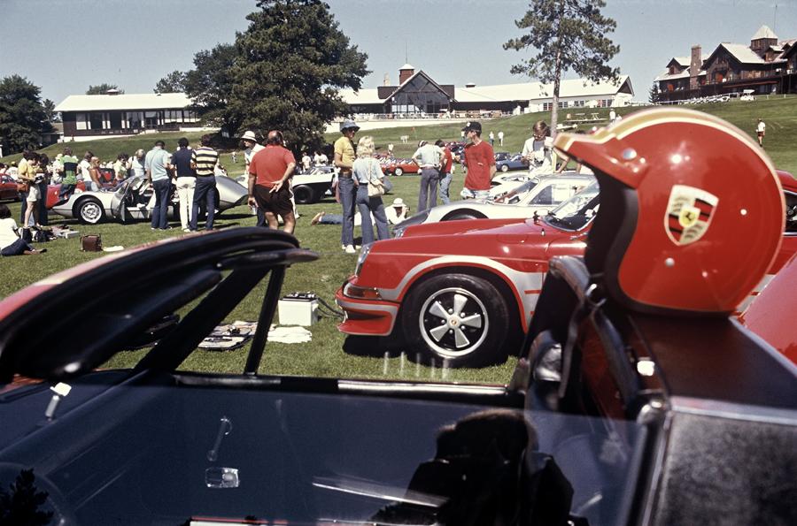 Encuentro Porsche Club America en 1976