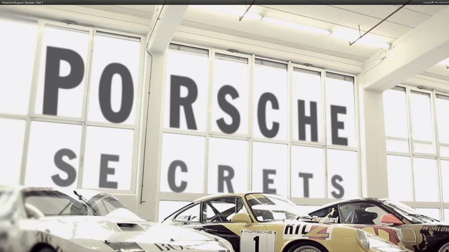 Los secretos del museo Porsche (parte 1)