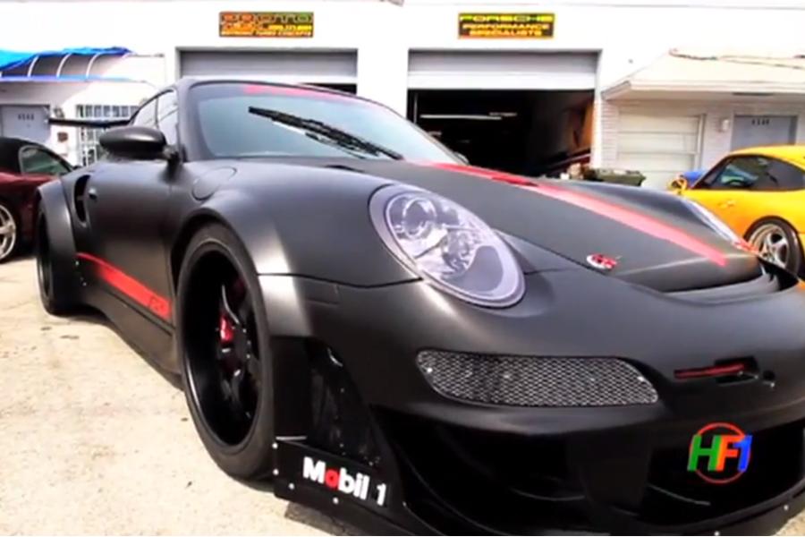 Locura del mes: un Porsche 911 Turbo con carrocería de 911 GT3 RSR