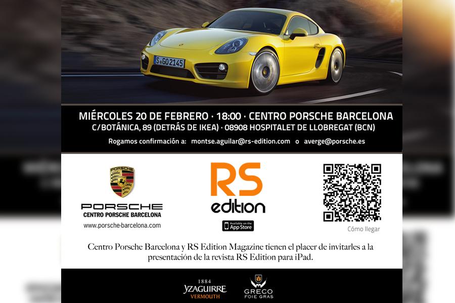 Presentación de la revista en el Centro Porsche Barcelona